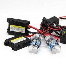 55 W 12 V ксеноновая лампа автомобильная лампа H1 H3 H7 H11 9005 9006 4300 k 6000 k 8000 k 10000 K HID тонкий балласт для ксенона фары комплект