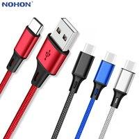 Daten USB Typ C Schnelle Ladekabel für Samsung galaxy S8 S9 Plus Hinweis 8 9 A3 A5 A7 2017 USBC Rollenmaschinenlinie Typc lange Handy Ladegerät 1 2 3m