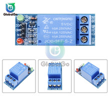 DC 5V 1 Channel Relay Module With Red Green Light Low Level Trigger Expansion Board for arduino