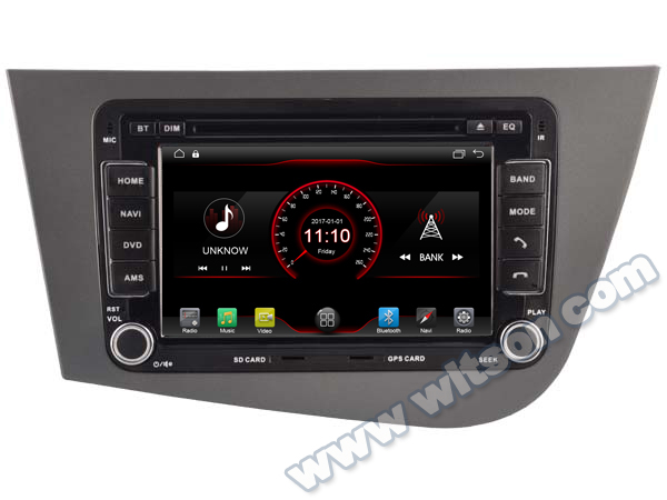 witson android 6 0 2gb ram 16gb flash car radio for seat. Black Bedroom Furniture Sets. Home Design Ideas