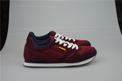 9c90ffd8c58 Original KINETIX Male vintage light running shoes genuine leather suede the  trend of shoes preppy style sport shoes-in Running Shoes from Sports ...