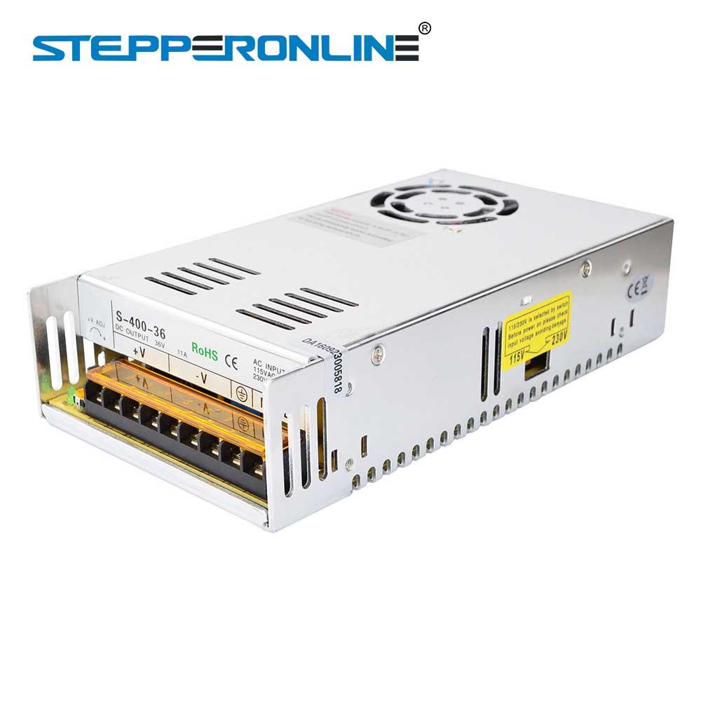2019 Neuestes Design 400 Watt 36 V 11a 115/230 V Schalt Netzteil Für Stepper Motor 3d Drucker Cnc Router Kits Halten Sie Die Ganze Zeit Fit Heimwerker