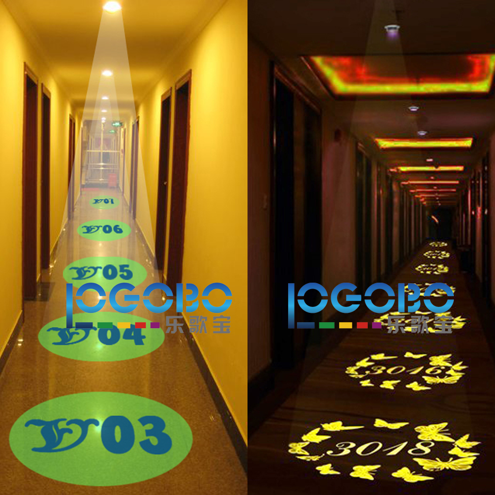 New Logo Ceiling gobo projector TE20-2