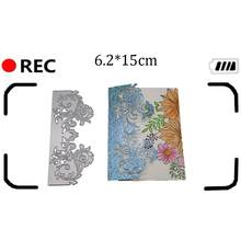 new Scrapbooking Greeting Card edge Lace Hollow Border Metal Cutting Dies Stencil Embossing stamps and dies DIY arrivage cuts(China)