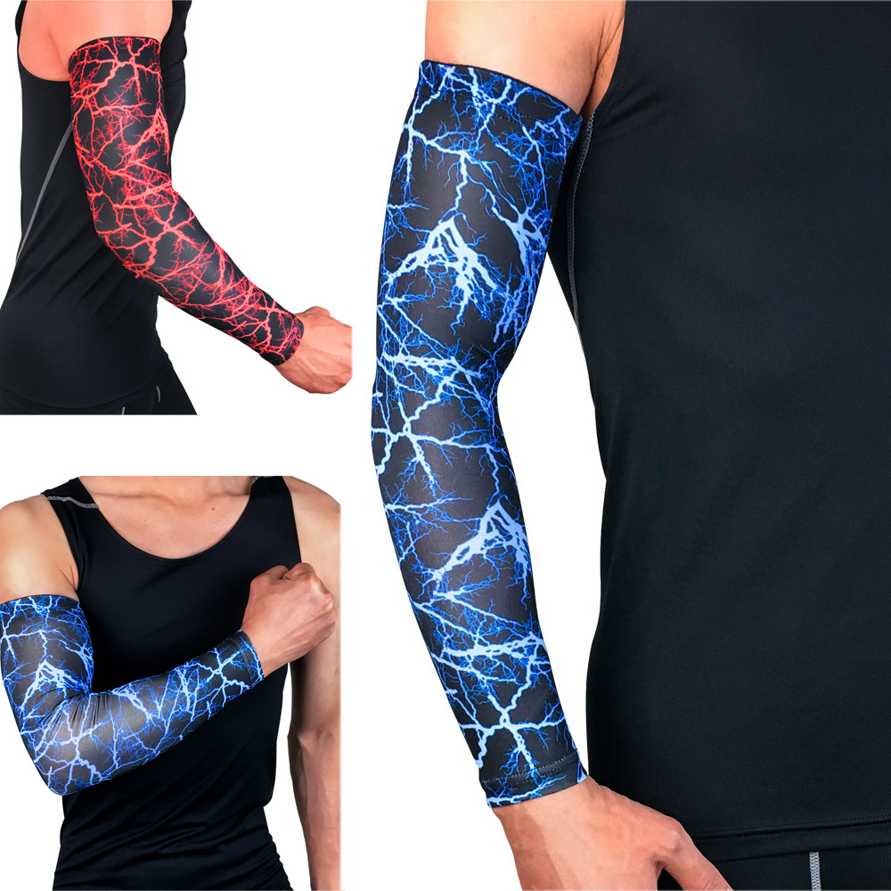Sports Protective Gear Arm Sleeve Sun Protection Outdoor Basketball Running SPSLF0028