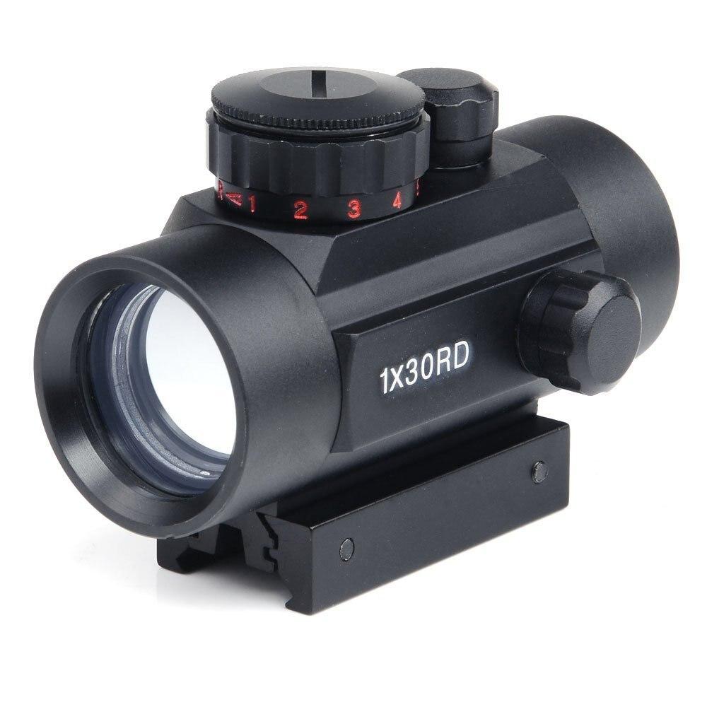 SPIKE <font><b>11mm</b></font> and 22mm rail 1X30 optical sight green red dot reflex holographic sight riflescope for shotgun accessory