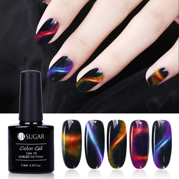 UR SUGAR 7.5ml 3D Chameleon Cat Eye Magnetic Gel Magic Stick Gradient Effect Soak Off UV LED Nail Gel Polish Lacquer