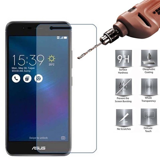 2pcs Tempered Glass for Asus Zenfone 3 Max X008D X008 Protective Glass on ASUS ZenFone 3 Max ZC520TL ZC520 TL Screen Protector