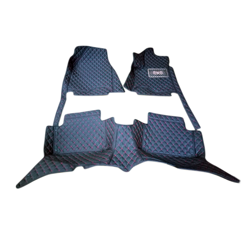 For Mercedes-Benz GLS Class 2016 2017 New Accessories Interior Leather Front Rear Carpets Cover Car Foot Mat Floor Pad 1set 2004 2006 for bmw x5 e53 2004 2005 2006 accessories interior leather carpets cover car floor foot mat floor pad 1set