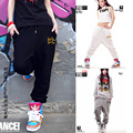 Olrain Couples Pants Men and Women Hip Hop Jazz Harem Pants Dance Pants Casual Loose Trousers-1045