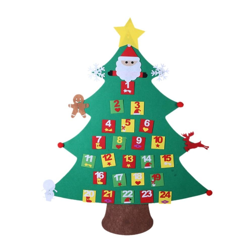 Calendar Christmas Gifts for 2019 Kids DIY Felt Christmas ...