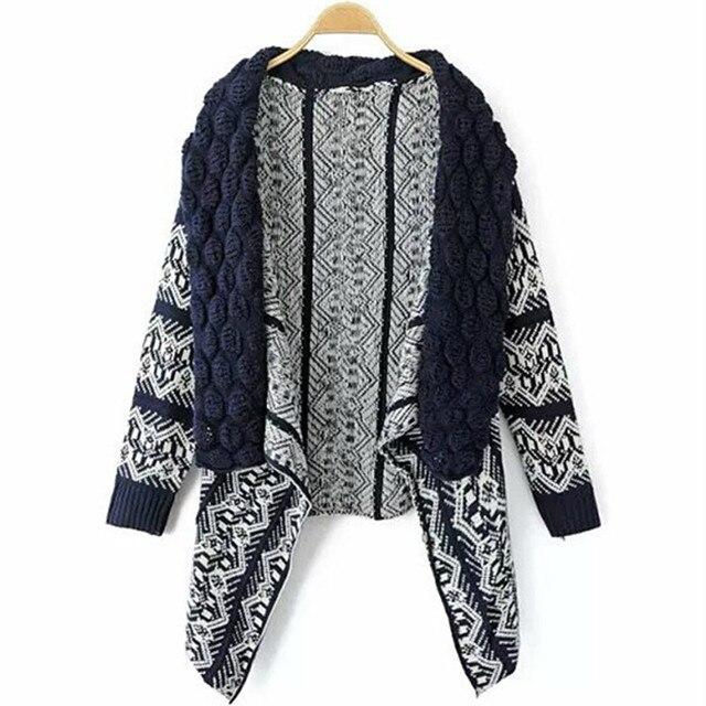 Cardigan Big Knitting Sweater  2