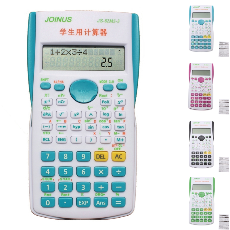 12 Digit Ultra slim Transparent Solar Calculator for Student School Office tudents Children Gift 2017