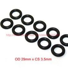 OD29mm*CS3.5mm black NBR nitrile o ring o-ring oring sealing rubber cord