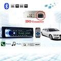 Авторадио Автомобильный Радиоприемник 12 В Bluetooth V2.0 JSD520 Стерео В тире 1 Din FM Вход Aux Приемник SD USB MP3 MMC WMA Автомобиль Радио-Плеер