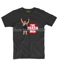 The Trash Man Trash Can Mens Womens Vintage Tee O Neck T Shirt