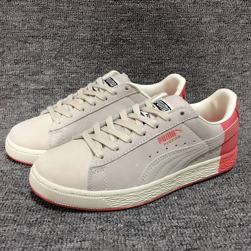 20182018 PUMA Select Men's Suede x Staple Sneakers Classic +CRFTD defines the shoes all Bago pig doves hit color badminton shoes