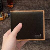 Dandeli ماركة الرجعية محفظة محفظة عارضة شريحة المهنية من الطلاب pu شخصية محفظة الساخن بيع