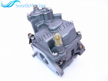 Boat Motor Carburetor Carb F15-07090000 for Parsun HDX Makara F9.9BM F9.9FM F15BM F15FM 4-stroke Outboard Engine, Manual Start