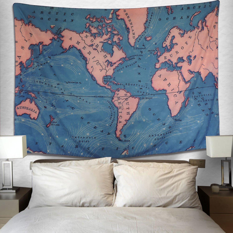 Map Tapestry Dorm