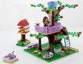 Amigos serie 10158 olivia girls árbol casa ensamblar juguetes juguetes de bloques de construcción bloques muchacha compatible con lepin 3065 diy