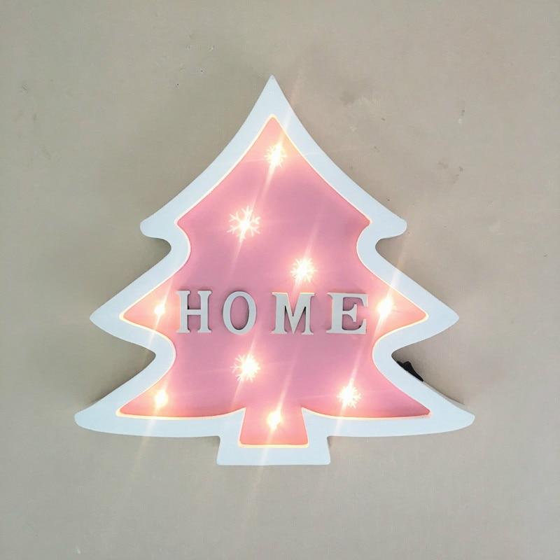 Julgran modellering ljus jul dekoration ljus som gåva hem baby rum - Festlig belysning - Foto 4