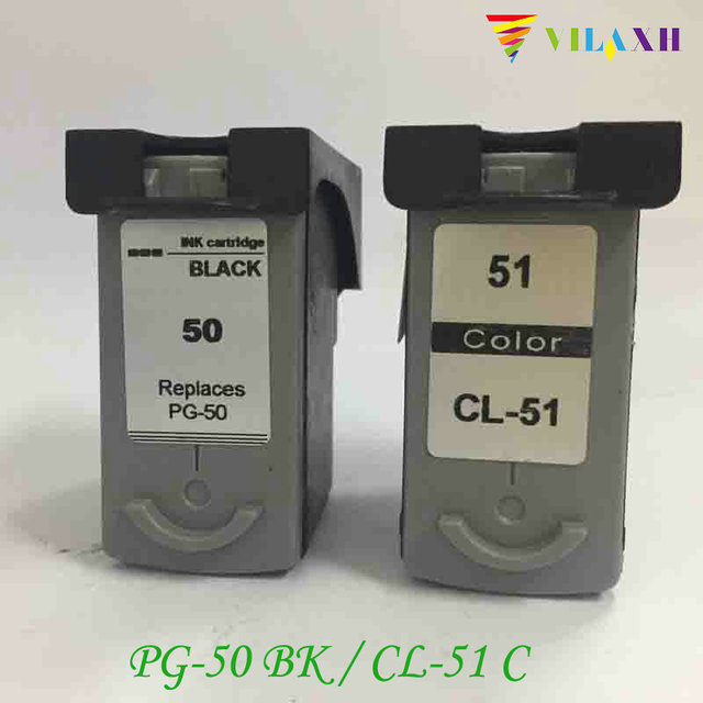 PG 50 CL 51 Ink Cartridge For Canon PG50 CL51 Pixma MP150