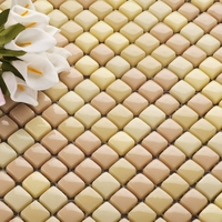12*12 ceramic mosaic tiles for kitchen backsplash bathroom wall and shower tiles living room wall tiles