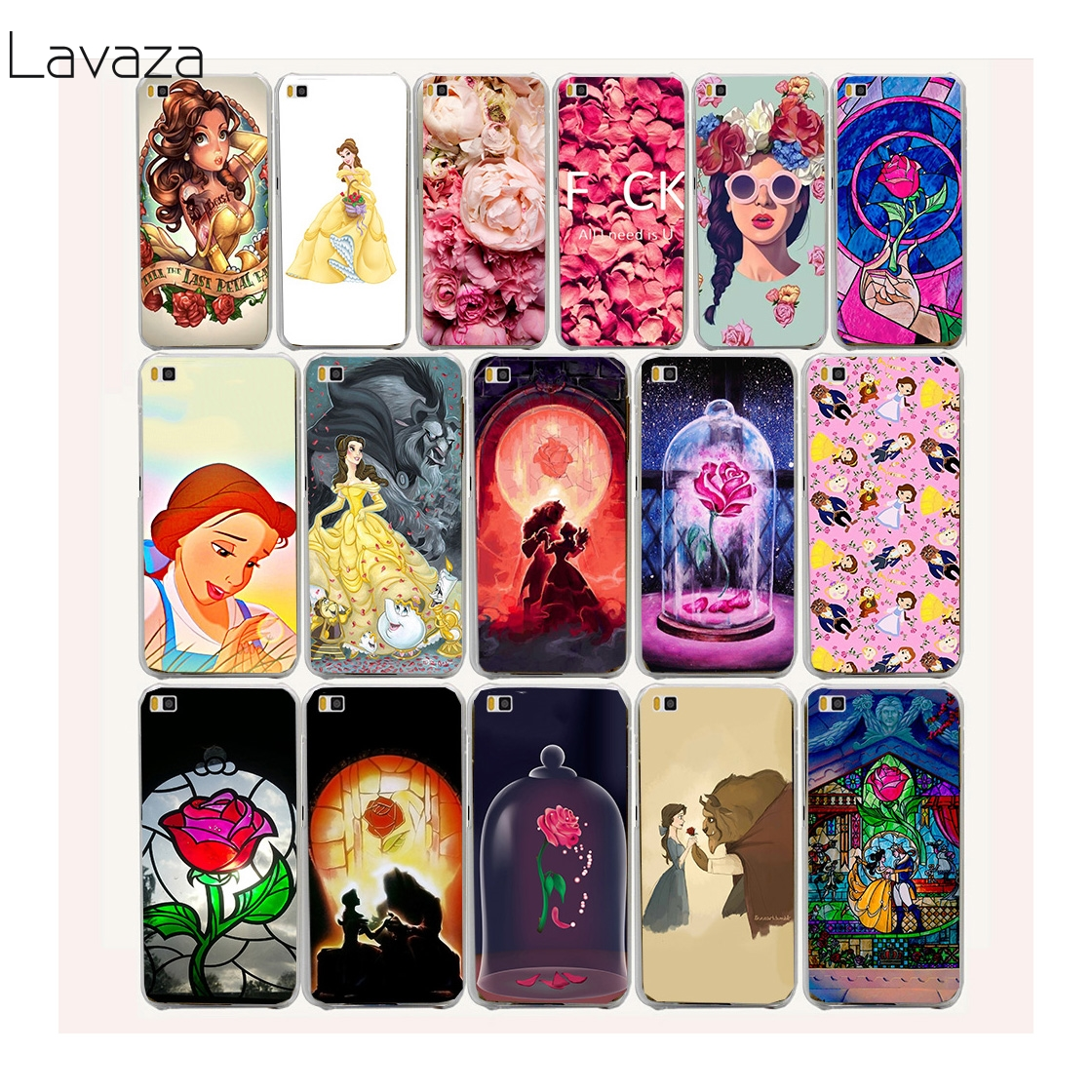 Lavaza 25af Belle s Beauty and the Beast Hard case for Huawei P smart P20 P10 P8 P9 lite mini Plus Pro 2015 2016 2017 ...