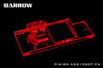 BARROW Graphics Card Block use for ASUS ROG-STRIX-GTX1080TI-O11G-GAMING/1080/1070-O8G-GAMING/1070TI Full Cover 3PIN D-RGB H