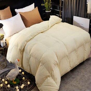 villi 3kg 4kg pink yellow white comforter feather quilt spring autumn winterduvet summer quilt Spring winter duvets