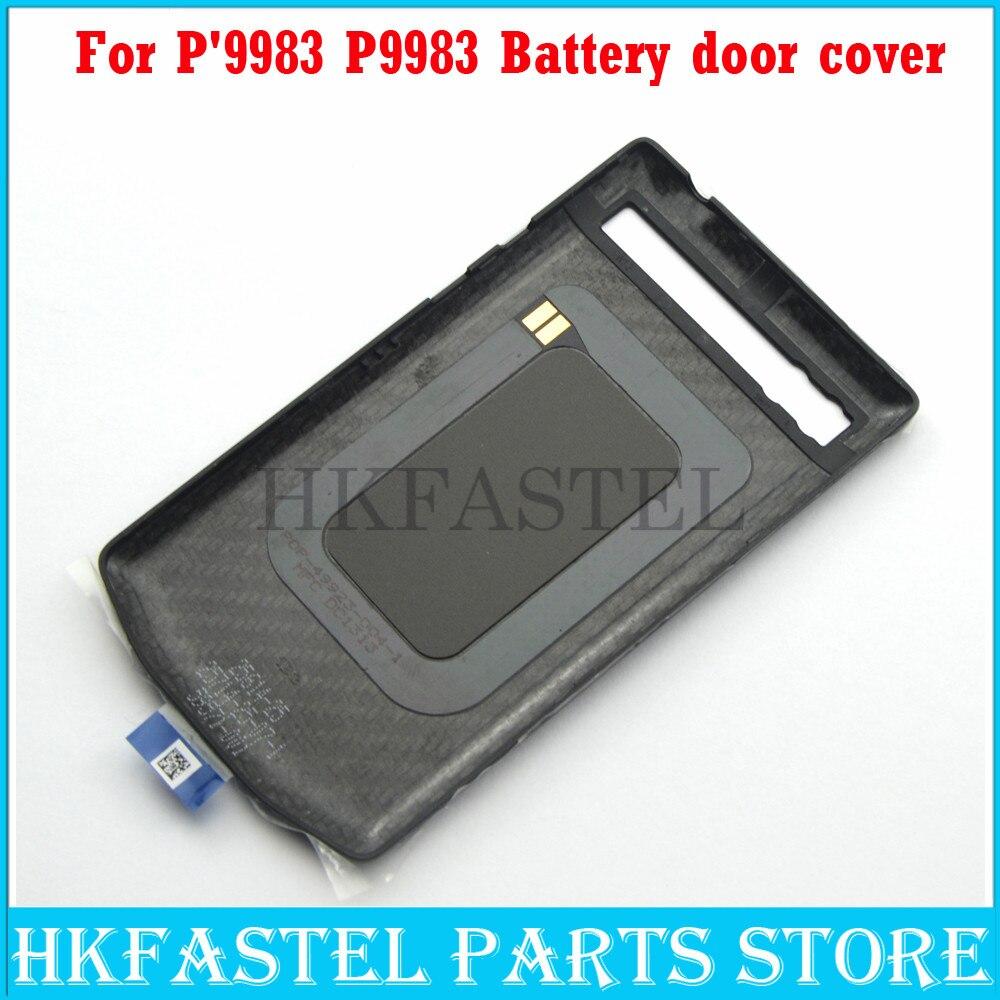 For BlackBerry Porsche Design P 9983 P9983 9983 Original Mobile Phone Back battery Door Housing Cover