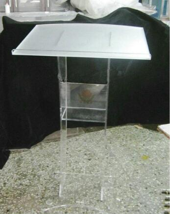 Free Shipping ModernAcrylic Lectern Podium Rostrum Pulpit Plexiglass Cheap Pulpit Acrylic Dais Clear Acrylic Church Podium Stand