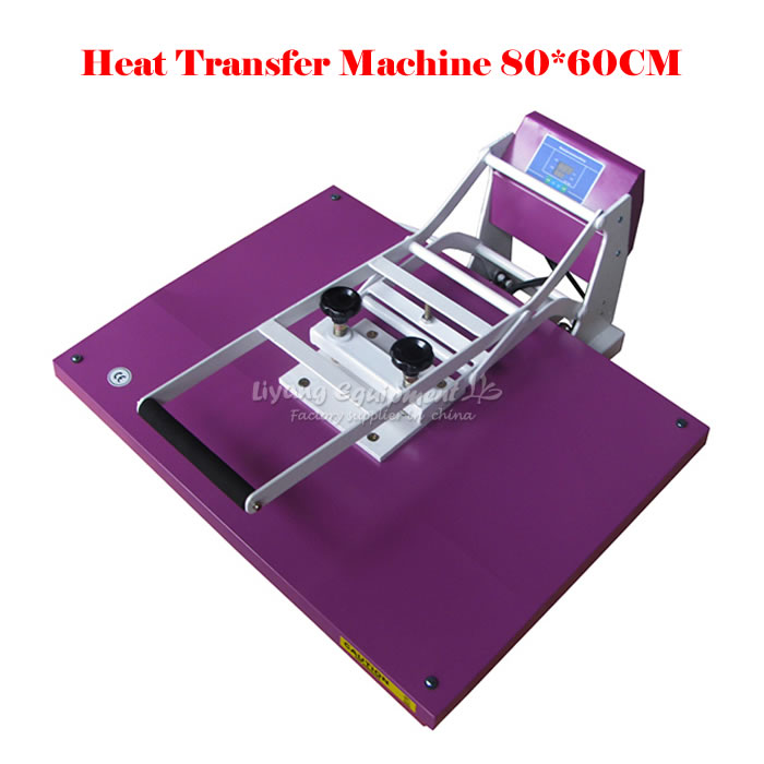 New  heat transfer printing machine 60*80CM large-format sublimation high-pressure heat press machine 23x30cm small heat press machine combo heat transfer machine sublimation printing machine hp230a