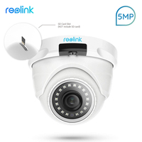 Reolink PoE IP Camera 5MP SD card slot Dome Security Outdoor Surveillance Camera CCTV Nightvision Video Surveillance RLC 420