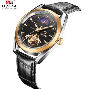 Reloj Tevise con fase lunar