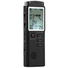 ¡ Venta caliente! 2 en 1 Profesional 8 GB Tiempo de Grabación de Pantalla T60 Digital de Voz/Audio Dictáfono de la Grabadora Reproductor de MP3 grabadora de v