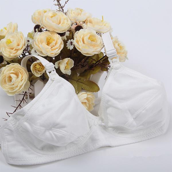 Nursing Bras Maternity Breastfeeding Pregnant Bra Cotton Underwear 36-42