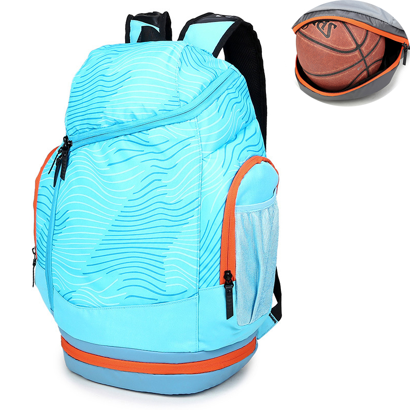 Shoulder Sports Gym Bags Basketball Backpack School Bags For Teenager Boys Soccer Ball Pack Laptop Bag Football Net Fitness Bag