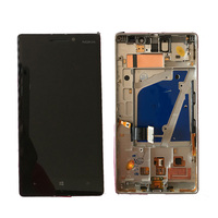 Original AMOLED 5.0 For Nokia Lumia 930 LCD Display with Touch Screen Digitizer Assembly With frame Free Shipping