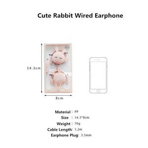 Image 5 - Newest Cat Ear Hook Headphones 3.5mm Music Earphones Headset With Microphone Earbud For Xiaomi Iphone Huawei MP3 Daughter Gift