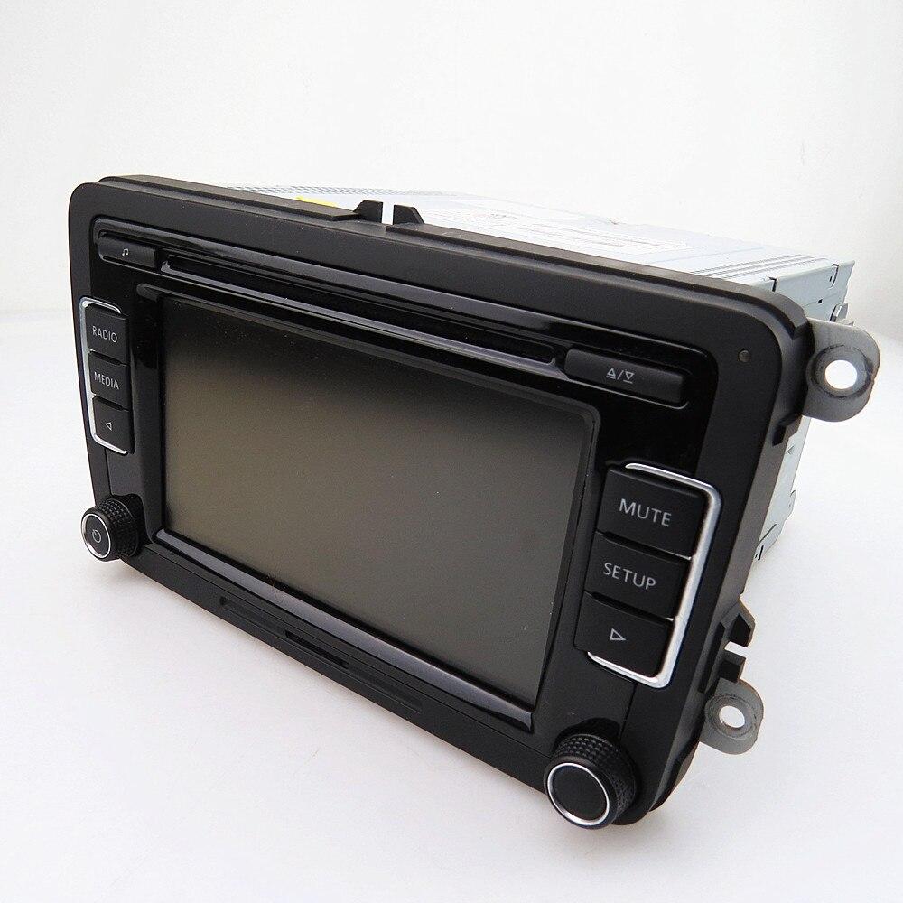 SCJYRXS Stock véritable RCD510 autoradio 6 disque CD MP3 lecteur stéréo pour Golf MK5 MK6 Passat B6 B7 Tiguan Polo Beetle CC
