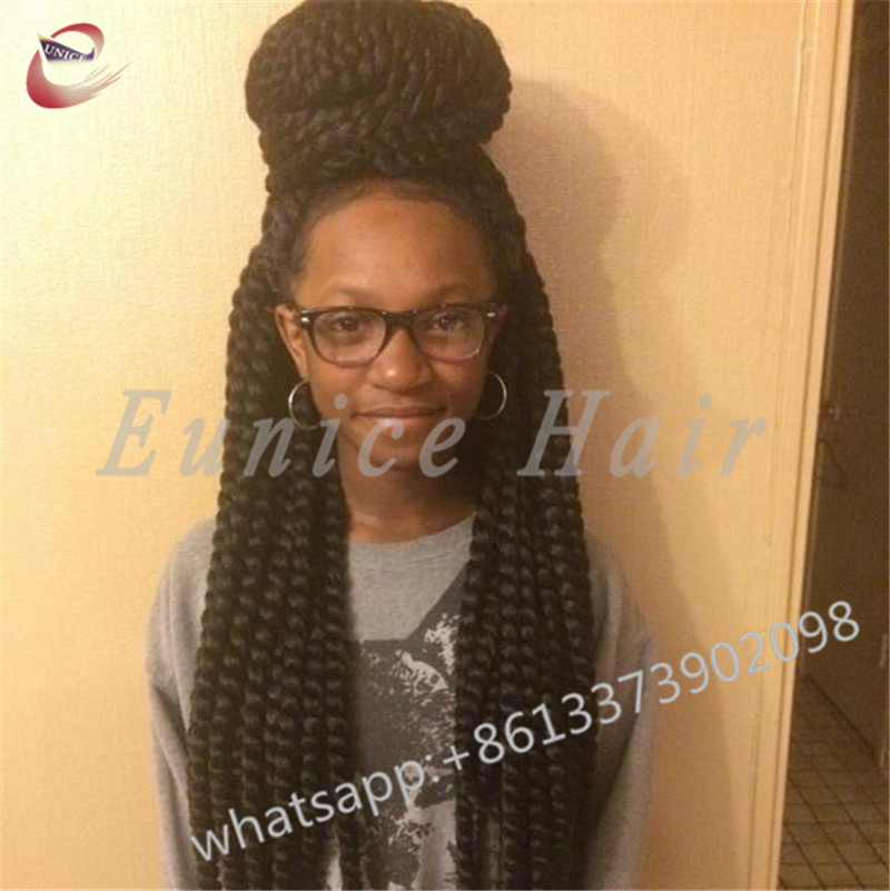 Curly Crochet Goddess Two Strand Twist Beauty Braids Hair Extensions
