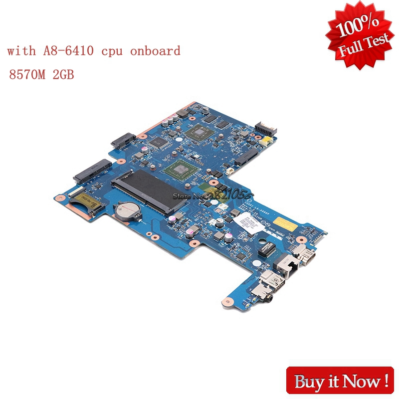 Nokotion ZSO51 LA-A996P For HP 15-G 764269-501 764269-001 Laptop Motherboard With A8-6410 CPU onboard nokotion for hp sleekbook 14 b laptop motherboard 714618 501 715866 501 da0u33mb6d0 with i3 2367m cpu onboard