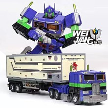WJ Custom Made Modell TF Deformation Robot Metal Alloy & ABS Commander MPP10 EVA Version
