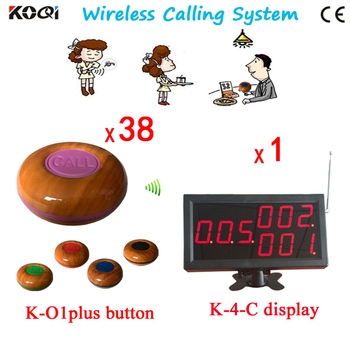 Free Shipping Hospital/Restaurant/Hotel Service Public Places Service Wireless Calling System