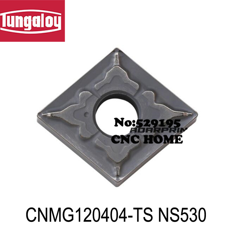 CNMG120404 TS NS530 CNMG120408 TS NS530 original tungaloy carbide insert use for turning tool holder boring