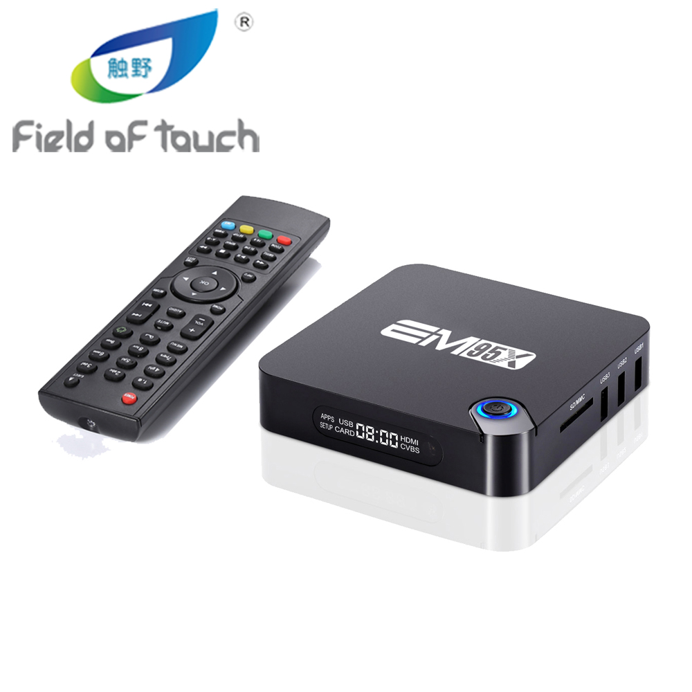 Android 6.0 TV Box EM95X Amlogic S905X Quad-Core A53 2.0 GHz Kodi 16.1 Full loaded WiFi 4K H.265 2G/16G Streaming Media Players m8 fully loaded xbmc amlogic s802 android tv box quad core 2g 8g mali450 4k 2 4g 5g dual wifi pre installed apk add ons