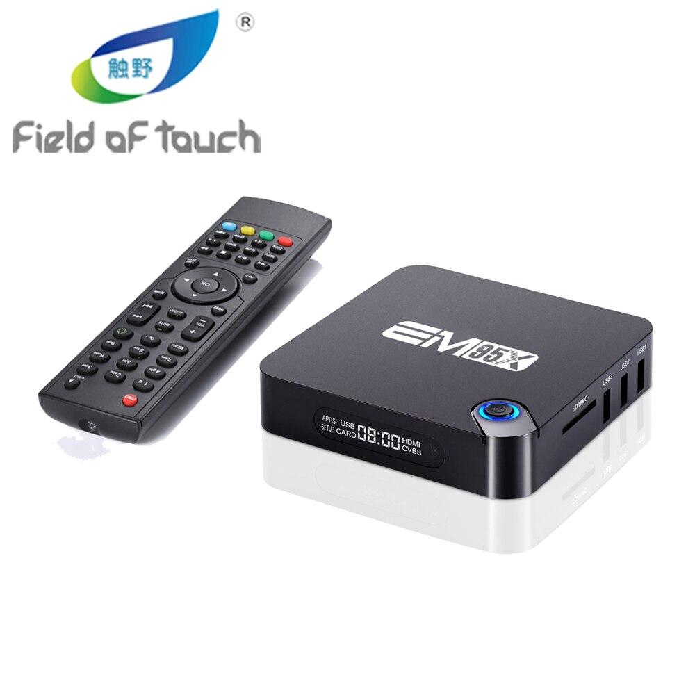 Android 6.0 TV Box EM95X Amlogic S905X Quad-Core A53 2.0 GHz Kodi 16.1 Full loaded WiFi 4K H.265 2G/16G Streaming Media Players t95x amlogic s905x android 6 0 tv box 2g 8g 2g 16g quad core 100lan wifi h 265 16 1 full loaded pre installed media player box