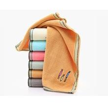 34x75cm 100% памук абсорбиращ плътен цвят мек удобен топ клас мъже жени семейство баня ръчно кърпа